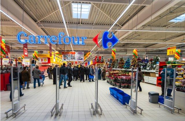 Carrefour a înregistrat cele mai mari vânzări din ultimele două decenii
