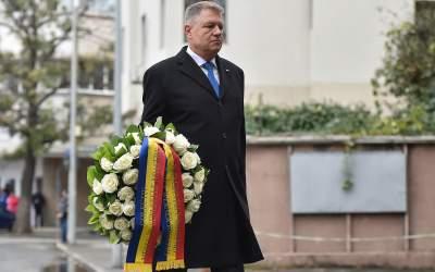 Preşedintele Klaus Iohannis a...