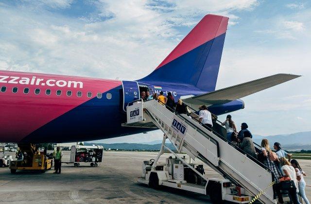 Wizz Air oferă o reducere de până la 50% pentru zborurile rezervate astăzi
