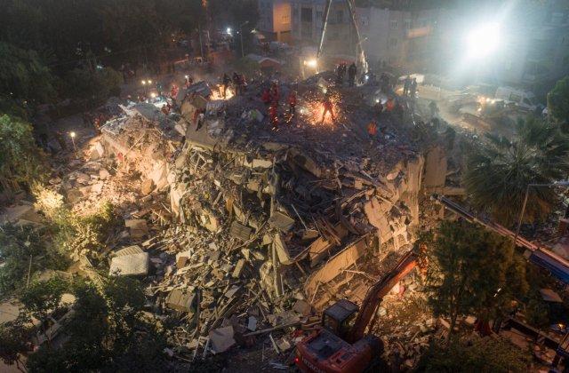VIDEO Cutremur puternic în Marea Egee: Cel puțin 25 de morți și peste 800 de rănăți