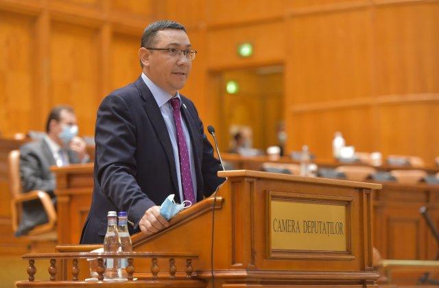 Ponta promite venit minim de criză, scutiri de taxe şi impozite, deschiderea școlilor și testarea tuturor românilor