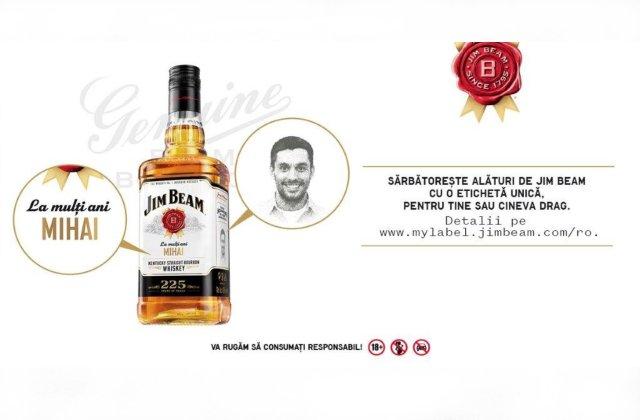 Jim Beam sărbătoreşte 225 de ani de la deschiderea distileriei, oferindu-le iubitorilor de bourbon o experienţă memorabilă