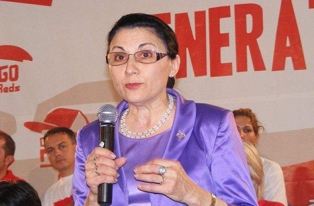Ecaterina Andronescu: Nu putem sa schimbam dintr-o data scoala traditionala intr-o scoala online