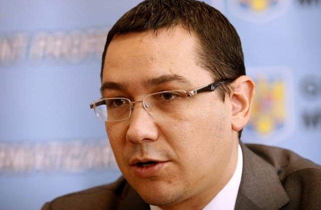Ponta: Romania ar putea deveni independenta energetic in cel mult zece ani
