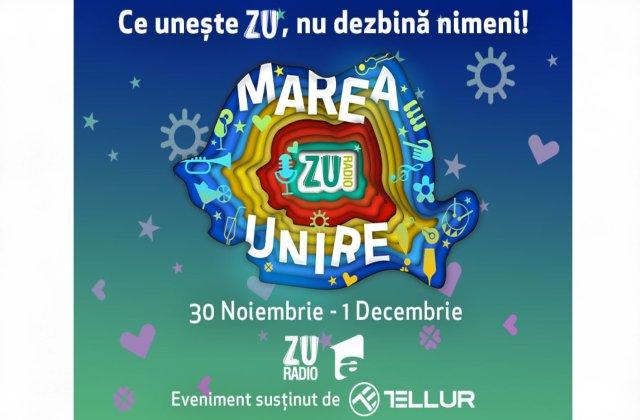 Radio ZU organizează cel mai mare concert din pandemie. Marea Unire ZU 2020 va fi difuzată simultan pe toate platformele Radio ZU și pe Antena 1