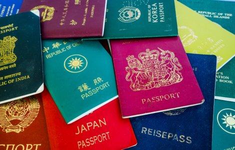 Top Pașapoartele au doar 4...
