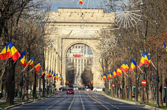 Trafic restricționat în Capitală din cauza repetițiilor și ceremoniei Zilei Naţionale a României