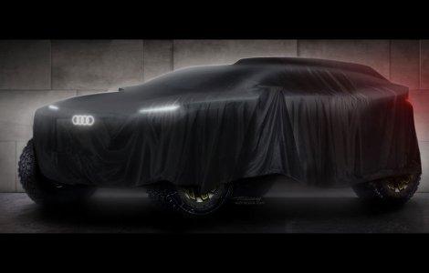 Audi anunță intrarea în Raliul Dakar cu o mașină electrică cu motor...