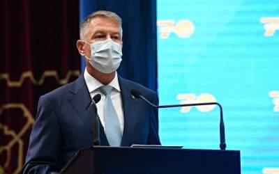 Iohannis îndeamnă românii să...