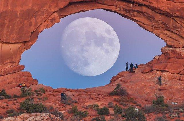 Nu e Photoshop: 10 imagini cu Luna care par desprinse din filmele SF