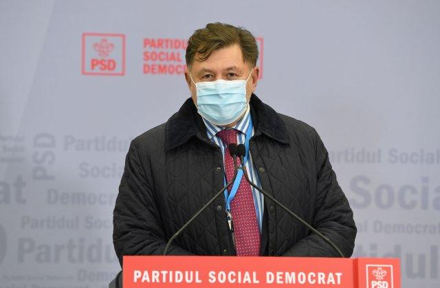 """Rafila: """"Aș fi onorat să fiu propus în funcția de prim-ministru de către PSD"""""""