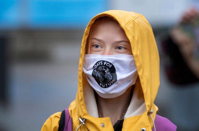 """VIDEO Greta Thunberg critică """"cuvintele goale"""", la cinci ani de la semnarea Acordului pentru climă de la Paris"""