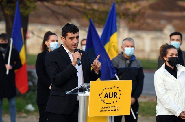"""George Simion: """"Propunerea AUR pentru postul de prim-ministru este Călin Georgescu"""""""