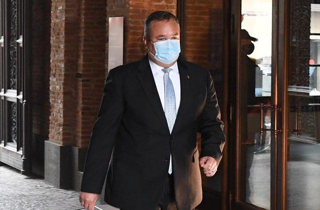 """Ciucă, după întâlnirea cu Iohannis: """"Am discutat doar aspectul asigurării funcţiei de prim-ministru interimar"""""""