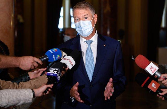 """Iohannis, replică pentru George Simion: """"Asta cu suspendarea e cam fumată"""""""