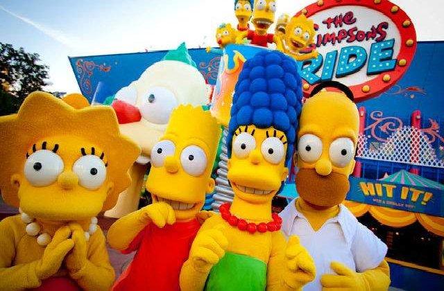 """Un parc tematic inspirat din """"Familia Simpson"""" se va deschide in vara"""