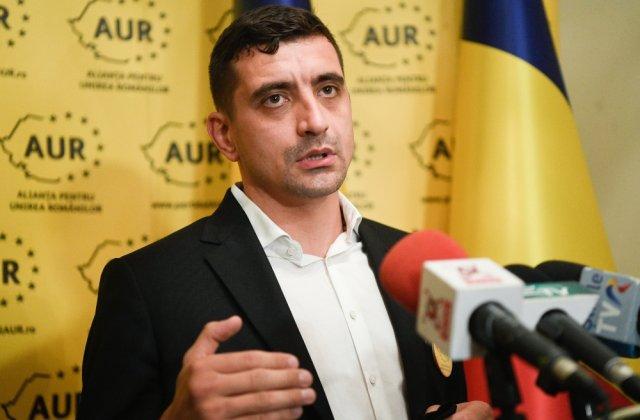 """Liderul AUR, George Simion, cere suspendarea lui Klaus Iohannis: """"Cineva trebuie să vă sancţioneze!"""""""