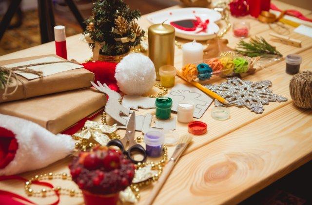 5 decoratiuni superbe de Craciun pe care le poti face împreună cu cei mici