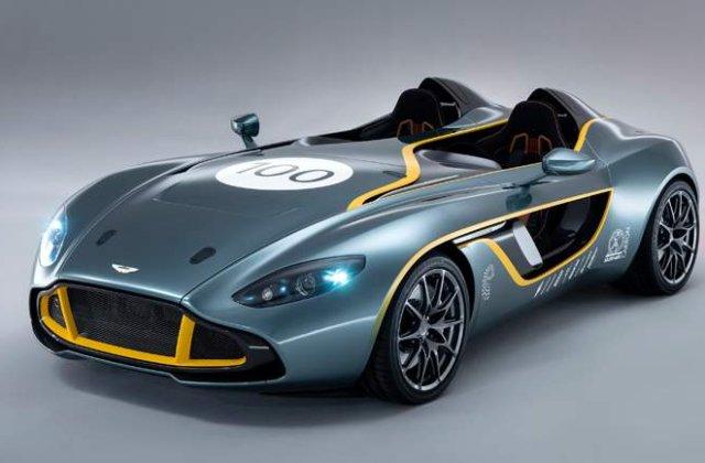 Aston Martin CC100 Speedster Concept - Un remake aniversar, cu tehnologie de top