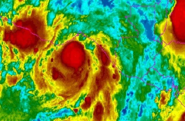 Uraganul Barbara, retrogradat la rangul de furtuna tropicala