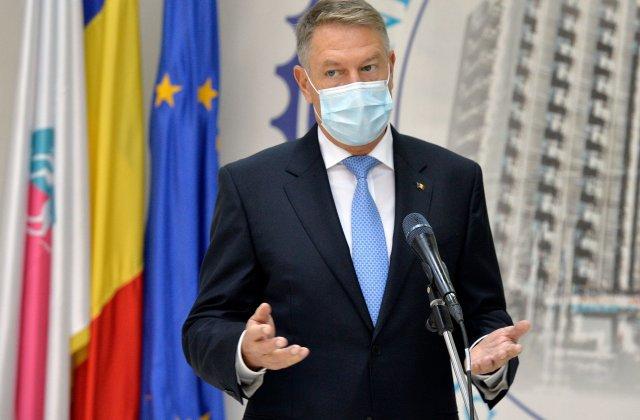 Iohannis a convocat o ședință la Cotroceni pentru gestionarea pandemiei