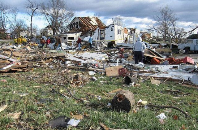 Bilantul tornadei din Oklahoma a ajuns la noua morti