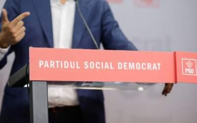 Vicepreședinte PSD reclamă un...