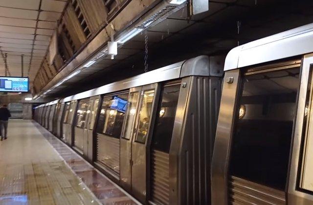 VIDEO Probleme la stația de metrou Eroilor 1: Apa curge din tavan