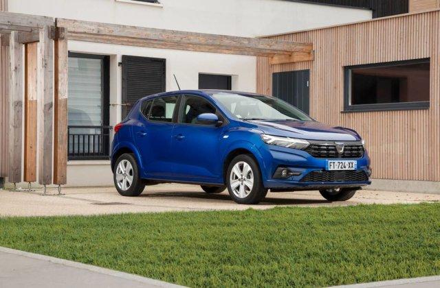 """Noul Dacia Sandero a câștigat titlul """"Mașina anului 2021"""" în Marea Britanie"""