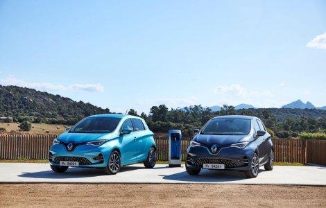 Românii au înmatriculat peste 2.800 de mașini electrice noi în 2020