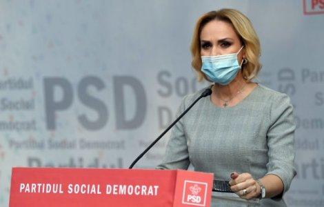 """Gabriela Firea: """"Cerem demisia ministrului USR-Plus al Sănătăţii"""""""