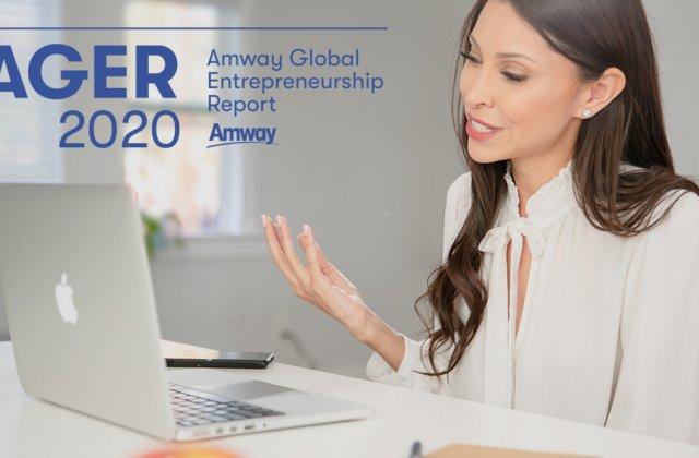 Raportul Amway Global 2020 confirmă creșterea interesului către antreprenoriat