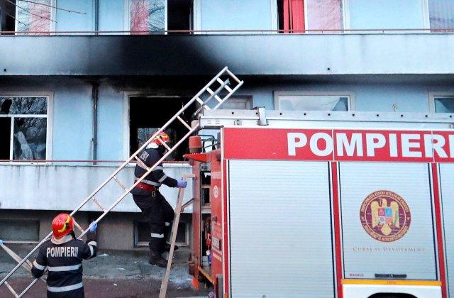 Încă un pacient transferat în urma incendiului de la Institutul Matei Balş a murit