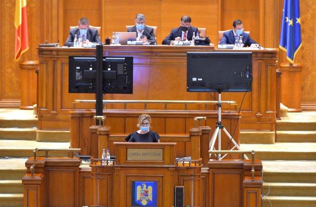 VIDEO Plenul reunit dezbate astăzi eliminarea pensiilor speciale ale parlamentarilor