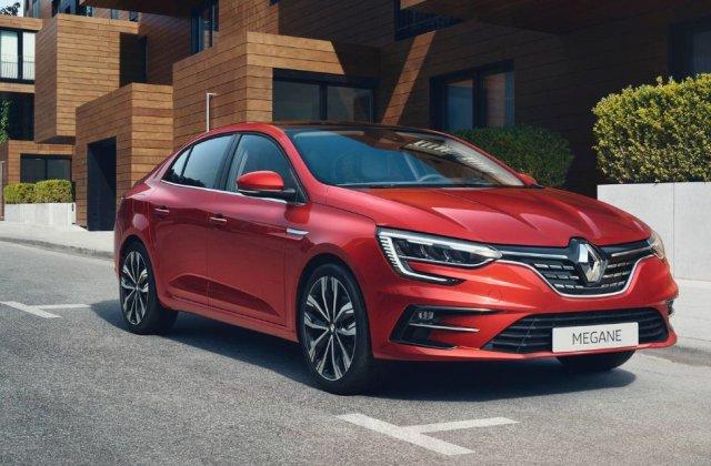 Prețuri Renault Megane Sedan facelift în România: cea mai accesibilă versiune costă 16.800 de euro
