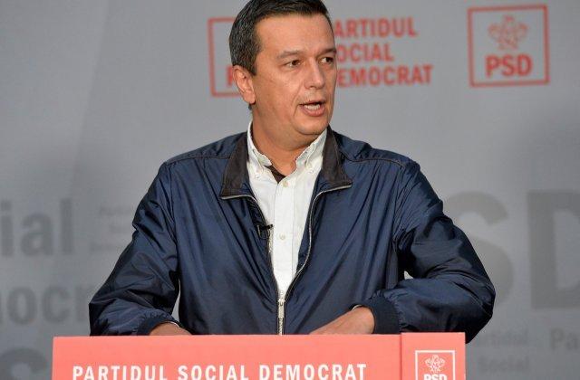 Sorin Grindeanu: PSD va depune mii de amendamente la legea bugetului