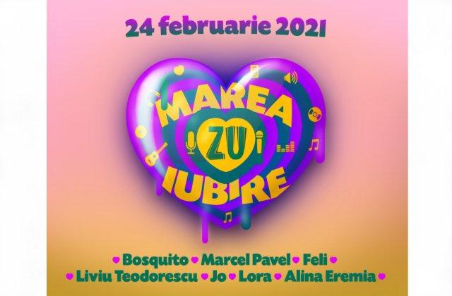 Marea Iubire ZU, festivalul cântecelor de dragoste. De Dragobete, iubirea se cântă la ZU!