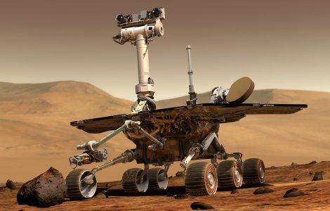VIDEO NASA a publicat momentul coborârii roverului Perseverance pe...