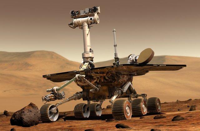 VIDEO NASA a publicat primele imagini cu momentul coborârii roverului Perseverance pe Marte