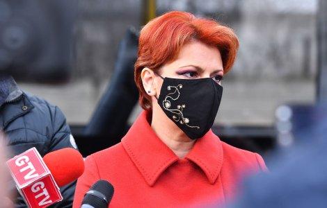 """Lia Olguța Vasilescu: """"Statul trebuie să aloce bani în locul..."""
