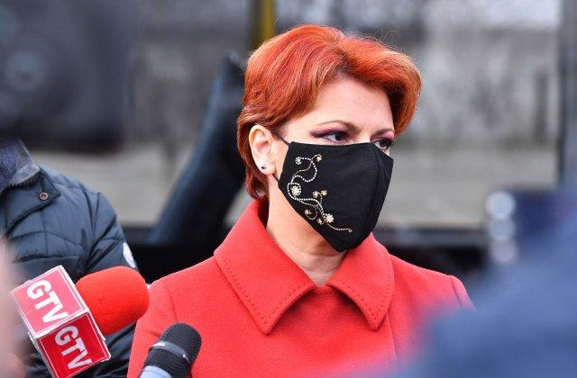 """Lia Olguța Vasilescu: """"Bugetarii trebuie să primească bani în locul voucherelor de vacanță eliminate"""""""