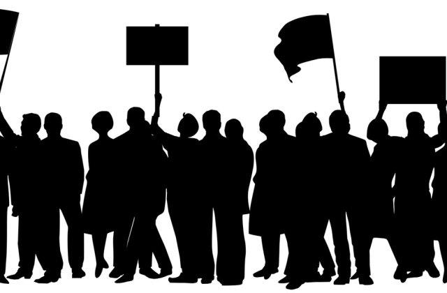 VIDEO Polițiștii au ieșit la protest împotriva măsurilor impuse de Guvernul Cîțu