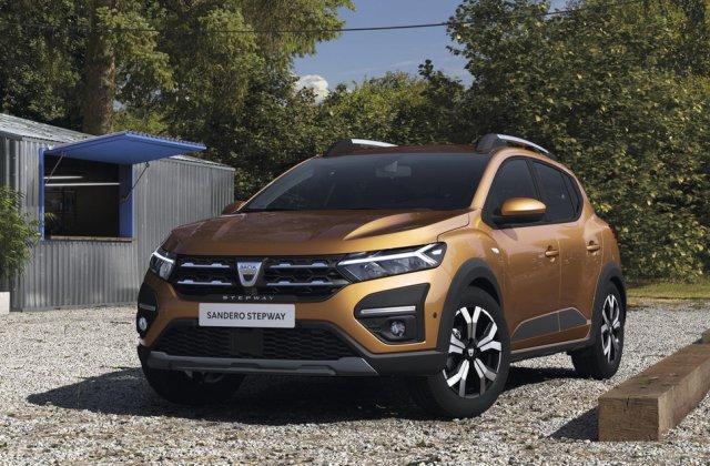 Dacia Sandero a depășit VW Golf la înmatriculările europene din ianuarie: modelul românesc, învins doar de Yaris și 208
