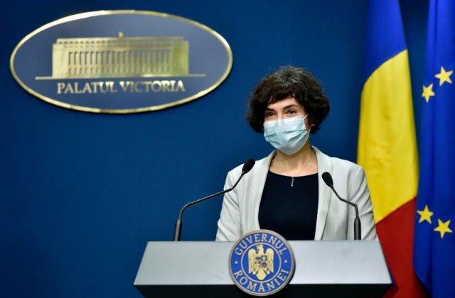 """Andreea Moldovan: """"Încercăm să nuanţăm abordarea COVID, ca accesibilitatea serviciilor medicale să crească"""""""