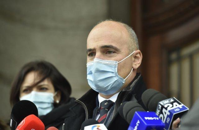 Rareș Bogdan îi acuză pe liderii Coaliției că nu îl sprijină pe Florin Cîțu
