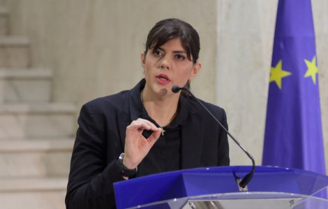 UE: Laura Kovesi a respins 7 candidați la postul de procurori...