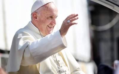 VIDEO Papa Francisc, în...