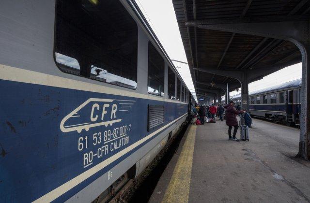 CFR Călători: 34 de trenuri InterRegio vor deveni Regio-Expres de la 1 aprilie