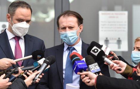 Florin Cîțu: Vom deschide în curând și etapa a treia de vaccinare