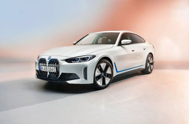 Primele informații și imagini cu noul BMW i4, sedanul electric cu 590 km autonomie